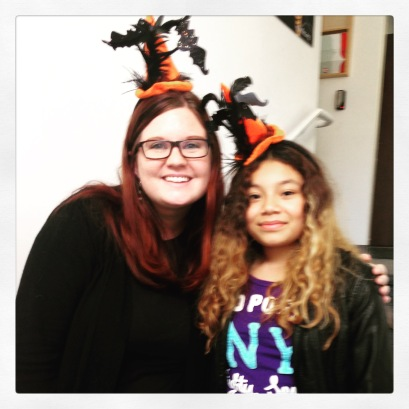 Libby and Sarah Halloween